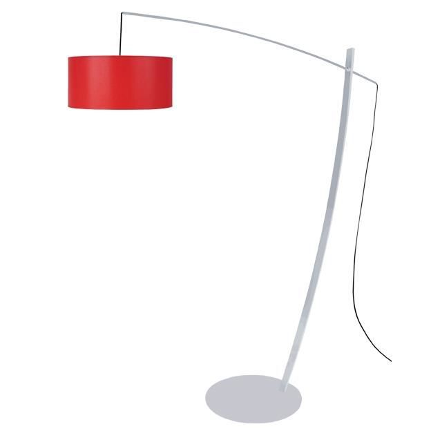LAMPADAIRE Lampadaires CAVALAIRE A TOSEL Rouge