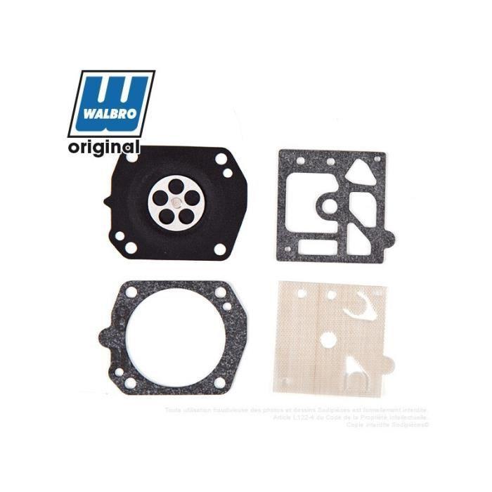 Lot de 2 C/·T/·S Kit de r/éparation et de Reconstruction pour carburateur Walbro K23-HDA pour carburateurs HDA-79 HDA-123 HDA-132 HDA-140 HDA-157 HDA-197