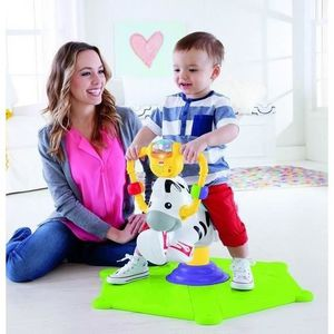 FISHER-PRICE Zébre Tourni-Rebond