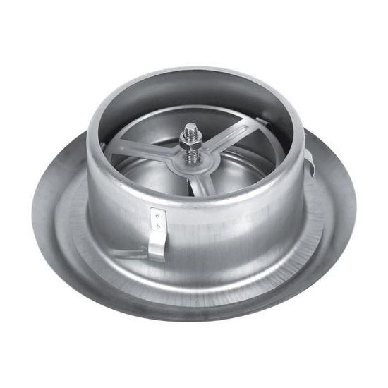 150mm Acier inoxydable rond Grille de ventilation couvrir pour bain ventilateur dextraction dair