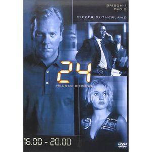 DVD FILM 24 heures chrono 16:00 - 20:00 saison 1 DVD 5