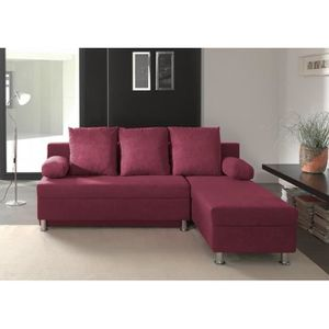 Canap convertible violet achat vente canap convertible violet pas cher - Canape convertible pas cher cdiscount ...