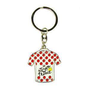 Le Tour de France Porte cl/és Maillot /à Pois de Cyclisme Collection Officielle