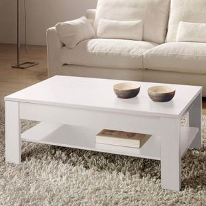 Basse Relevable Blanc … Table Dimensions Oralia Ful1c5JTK3