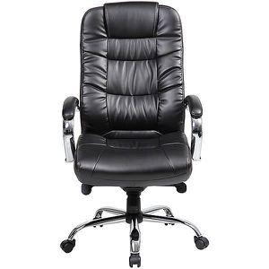 CHAISE DE BUREAU Chaise pivotante de bureau en cuir Verona - avec a