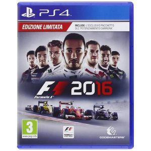 JEU PS4 Playstation 4 F1 2016 - Formula Uno 2016  - Day-On