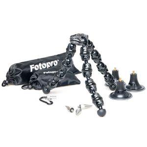 TRÉPIED Fotopro RM-110S noir/blanc + accessoires Mini trép