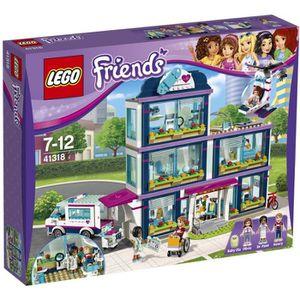 ASSEMBLAGE CONSTRUCTION LEGO® Friends 41318 L'Hôpital d'Heartlake City