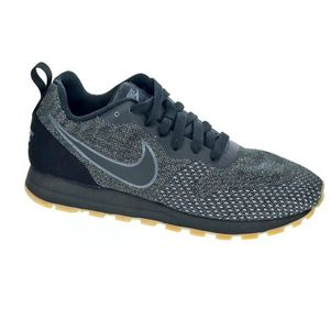 low priced 8c842 1a5da BASKET Baskets basses - Nike Md Runner 2 Femme Noir