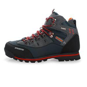 NORTIV 8 Hommes Chaussures de Randonn/ée /à Enfiler Respirant Ext/érieur Trekking Marche