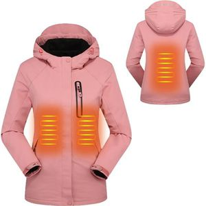 3 niveaux de temp/érature r/églable unisexe r/éversible ski gilet chauffant /électrique pour camping Songway Gilet chauffant lavable pour femme avec batterie de 7,4 V p/êche