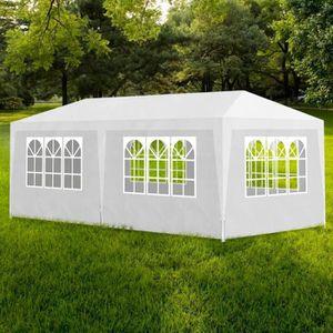TONNELLE - BARNUM Tente de réception 3 x 6 m Blanc Tonnelle de jardi