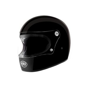CASQUE MOTO SCOOTER PREMIER CASQUE INTEGRAL TROPHY U9 NOIR BLACK S Noi