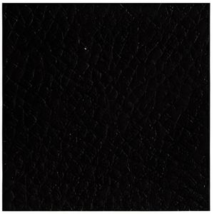 TISSU Simili Cuir Noir Effet Grainé - Tissu au mètre - Q