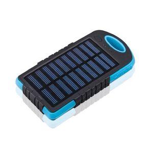 BATTERIE EXTERNE Batterie externe solaire 5000 MAH - étanche - 2 po
