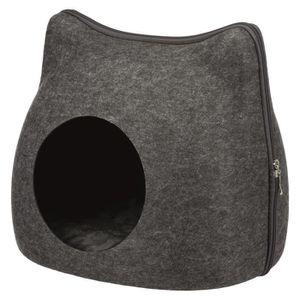 ACCESSOIRE ABRI ANIMAL TRIXIE Abri douillet Cat 38 × 35 × 37 cm - Gris an