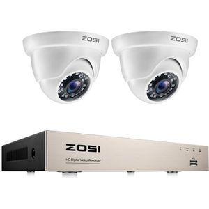 CAMÉRA DE SURVEILLANCE ZOSI Système de Sécurité 1080P Caméra de Surveilla