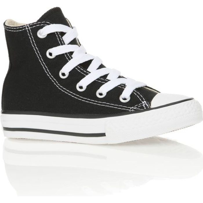 converse baskets chuck taylor all star core hi enfant noir achat vente basket cdiscount. Black Bedroom Furniture Sets. Home Design Ideas