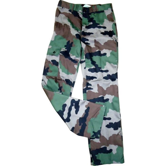 TERRITOIRE CHASSE Pantalon 3 poches - Motif camouflage