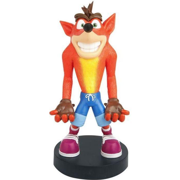 Crash Bandicoot Action Figure Jouet Modèle Téléphone ou Manette Support PVC Figurine