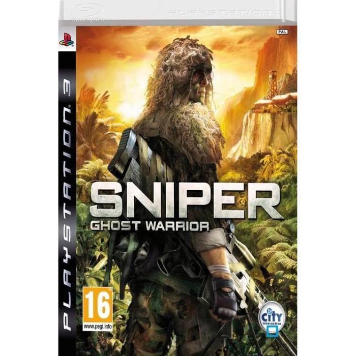 SNIPER GHOST WARRIOR / Jeu console PS3