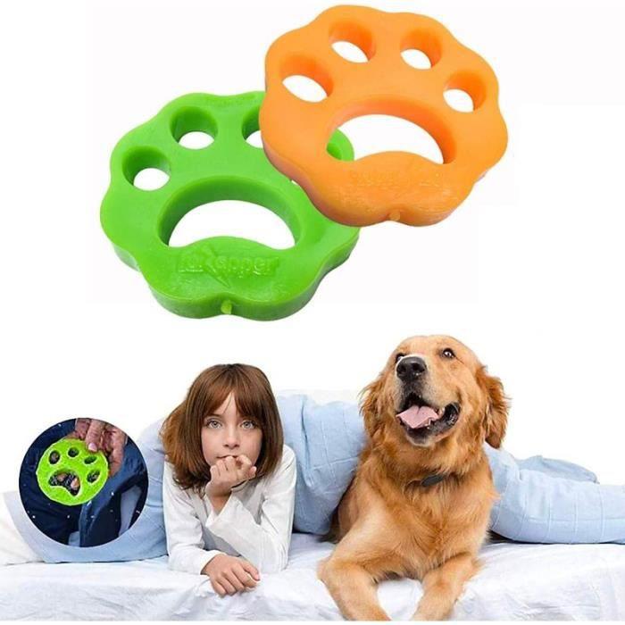 22 PCS Poils Animaux Nettoyage Outil, Boule Anti Poil/Boule De Lavage pour Poils d'animaux Domestiques, Poil Machine à Laver