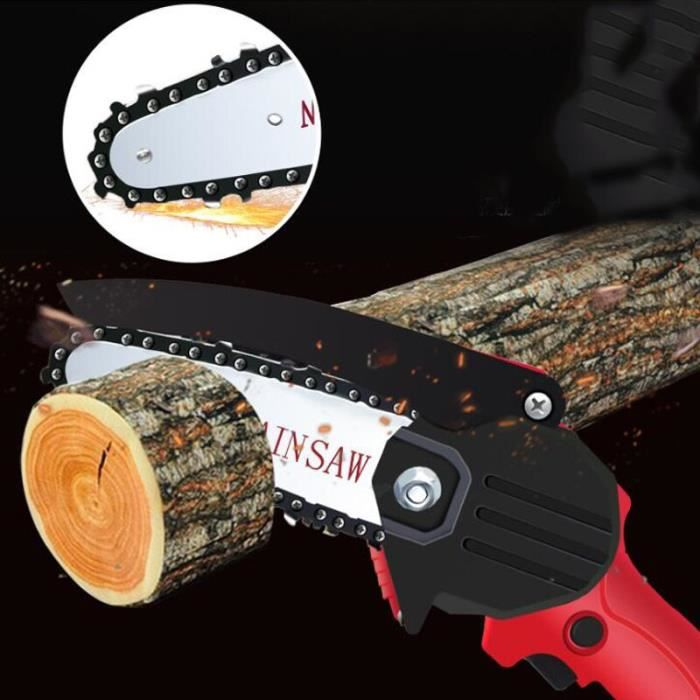 220V sans fil Portable Rechargeable pour batterie Makita élagage électrique scie Mini bois une main scie à bois