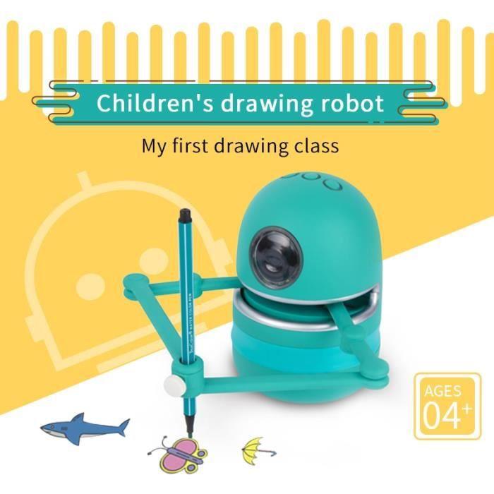 Dessiner Robot jouets pour enfants étudiants apprentissage outil de dessin jouets garçons filles enfants jouets éducatifs cadeau