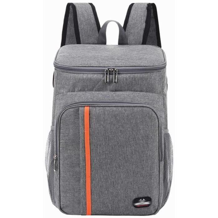 Large capacity picnic backpack waterproof Sac de pique-nique Sac à Dos Isotherme à Glacière Cooler Backpack Bag, Sac Isotherme Porta