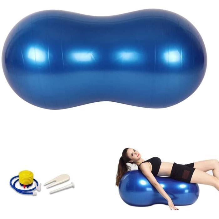 Balle de Gym cacahuète-Ballon de Gymnastique-Peanut Ball-Balle de thérapie-Gymnastique Balle-Swiss Ball-Yoga Balle, pour Yoga, 435