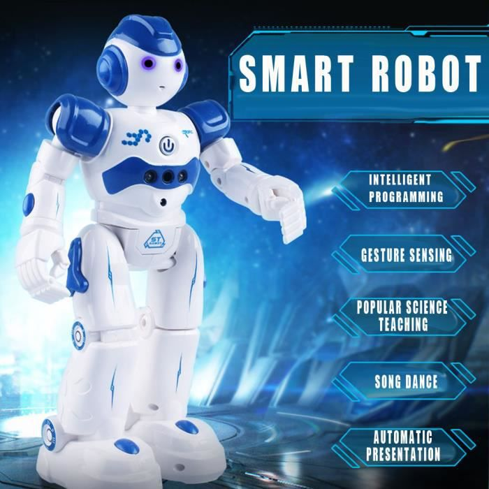 Télécommande De Danse Jouet Pour Enfants Chargement Multifonction Robot Intelligent @wok2153