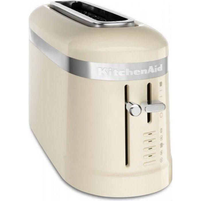 Kitchenaid - grille-pains 1 fente 900w crème - 5kmt3115eac