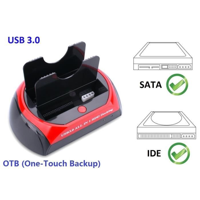 DOCKING STATION,Subway Double --3.5- Station 2.5 pouces IDE SATA HDD