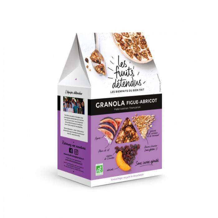 Granola figue abricot 300gr - Les Fruits Détendus