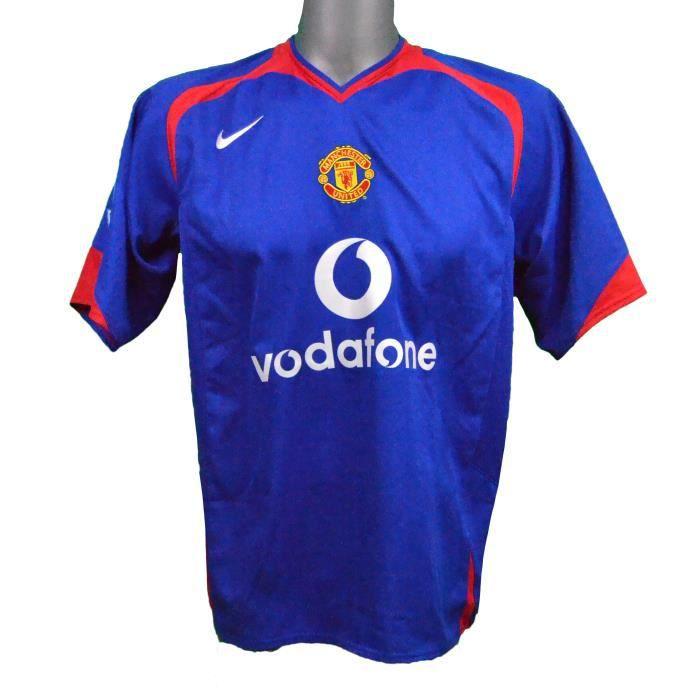Maillot extérieur Manchester United 2005/2006 Rooney