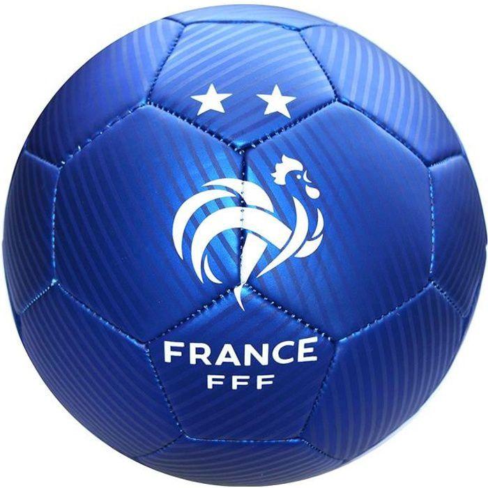 FFF - Ballon de Foot 'Équipe de France' Officiel - Bleu