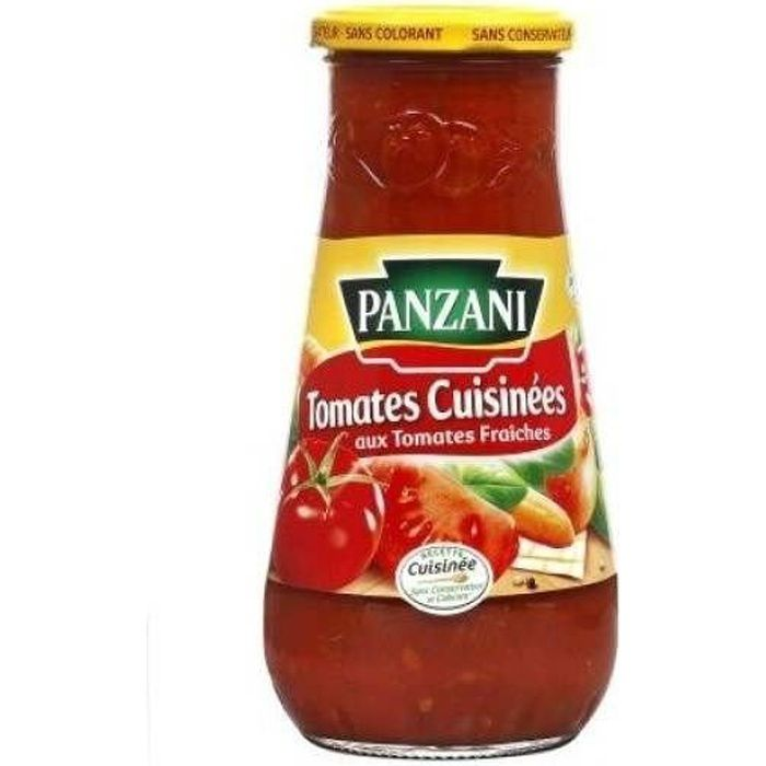 Panzani Sauce Tomate Cuisinées 600 gr.