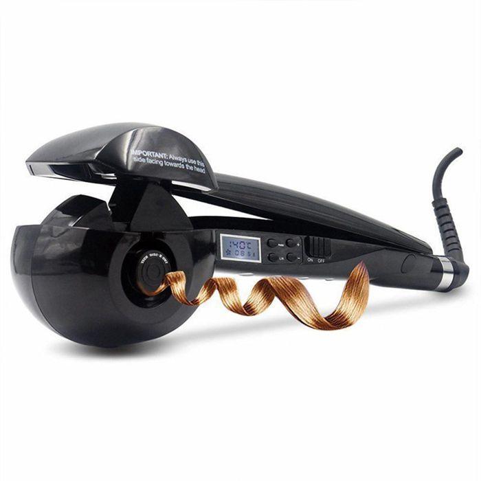 TD® Fer à boucler cheveux vapeur pro curl céramique lisser friser boucles lissage céramique électrique lissage céramique accessoire