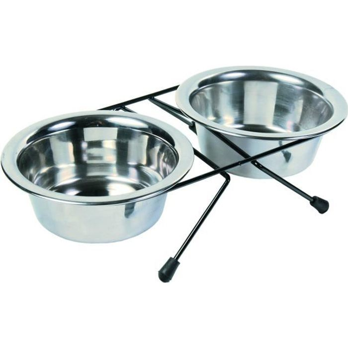 TRIXIE Set écuelles Eat on Feet pour chien