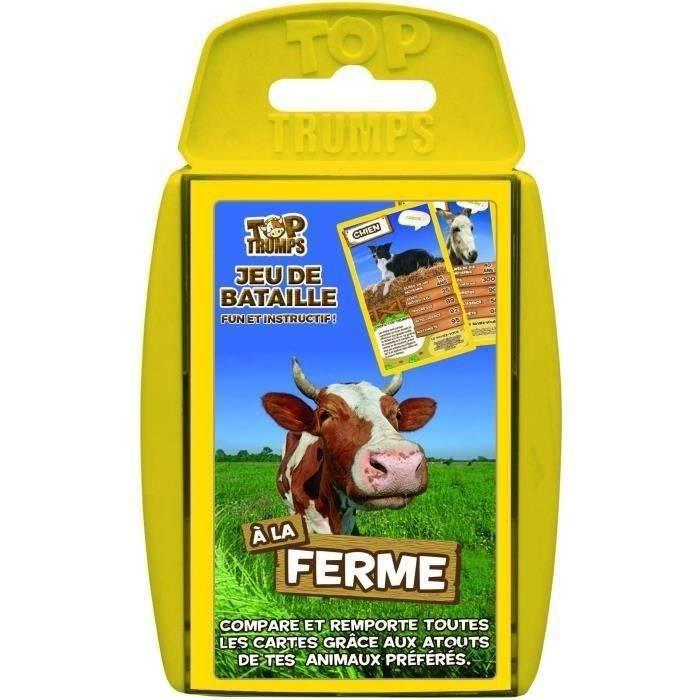 TOP TRUMPS - A la ferme - Jeu de cartes - Version française