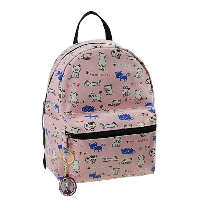 sac dos toile cartable primaire cartoon sac elev s 3 12 ans canevas enfant backpack scolaire. Black Bedroom Furniture Sets. Home Design Ideas