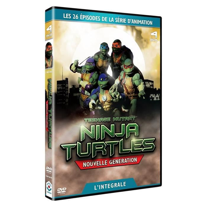 DVD FILM DVD - Coffret intégrale les tortues ninja : la nou