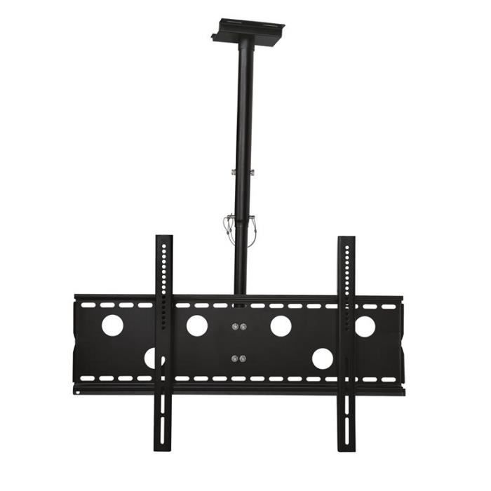 fixation support tv fixation plafond rtractable inclinaison 20 pour - Support Tv Plafond Escamotable
