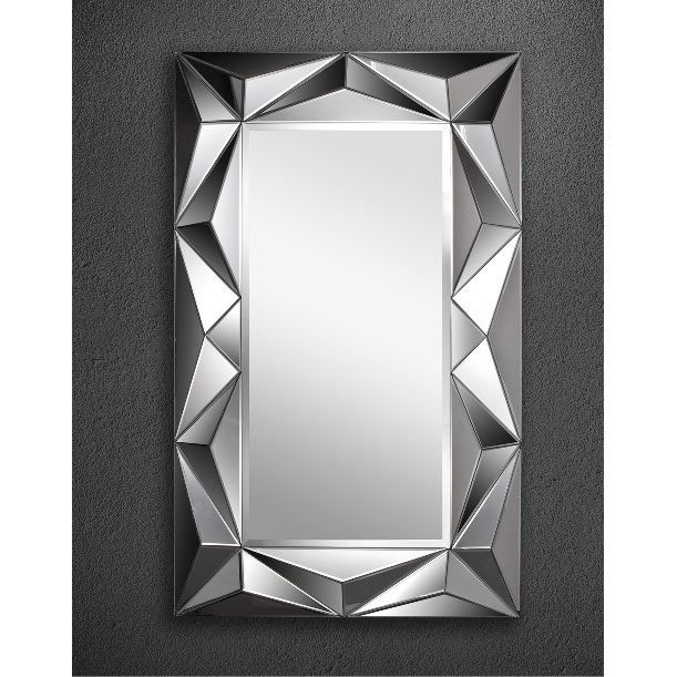109 grand miroir rectangulaire design le miroir mural for Miroir baroque grande taille