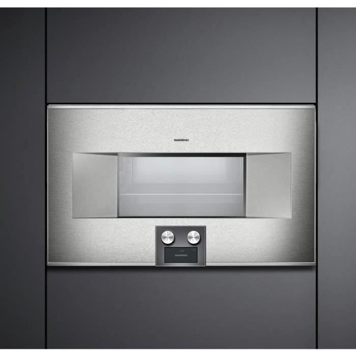 gaggenau four vapeur combin s rie 400 inox electrom nager. Black Bedroom Furniture Sets. Home Design Ideas