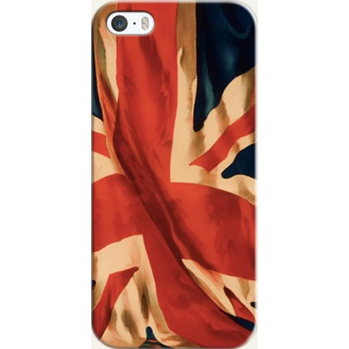 coque iphone 5 bleu blanc rouge