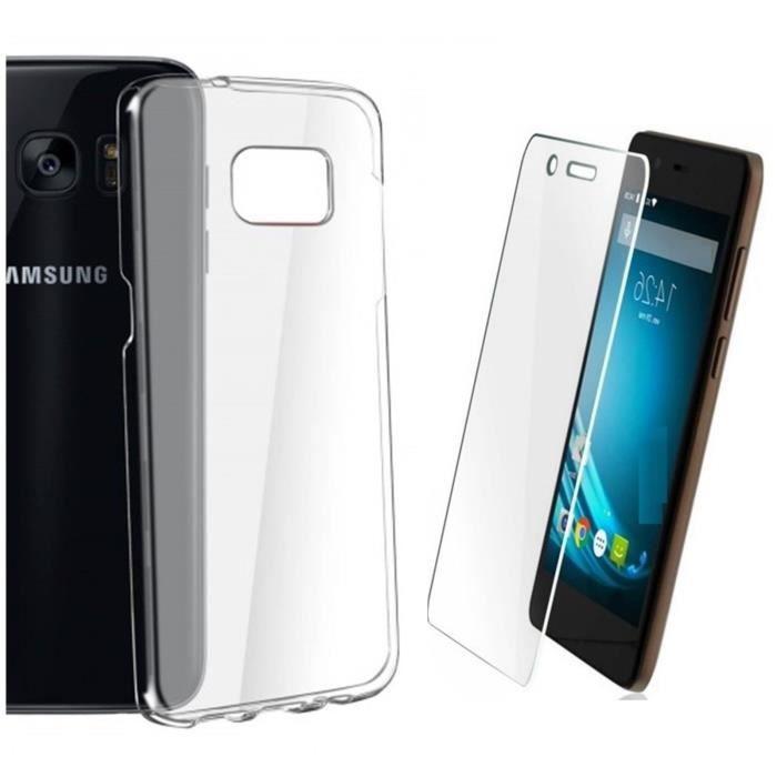 Coque SAMSUNG Galaxy S8 - silicone Transparent av