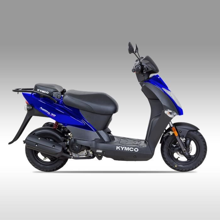 kymco agility 10 4t bleu achat vente scooter kymco. Black Bedroom Furniture Sets. Home Design Ideas