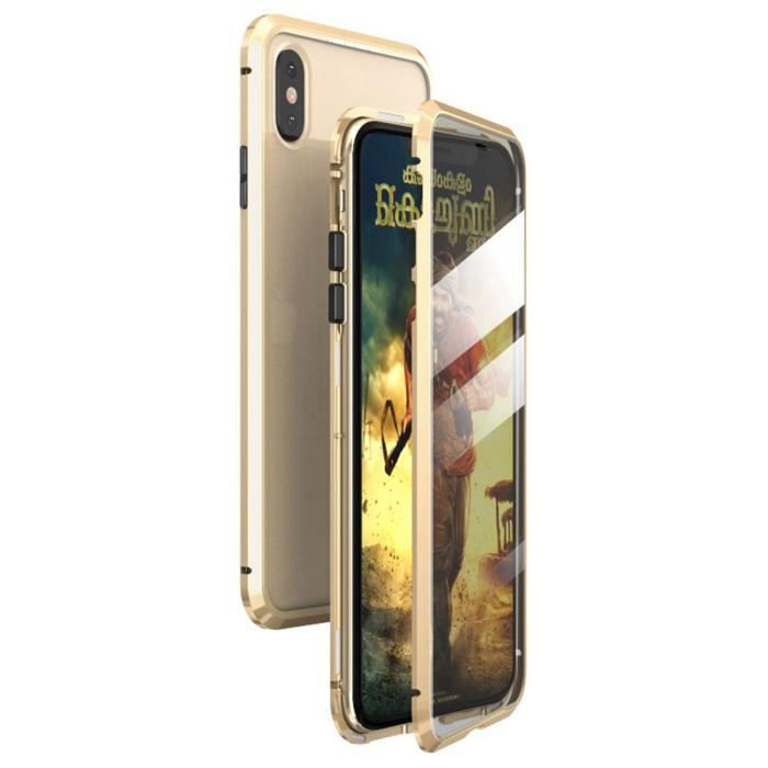 iphone x iphone xs coque d adsorption magnetique