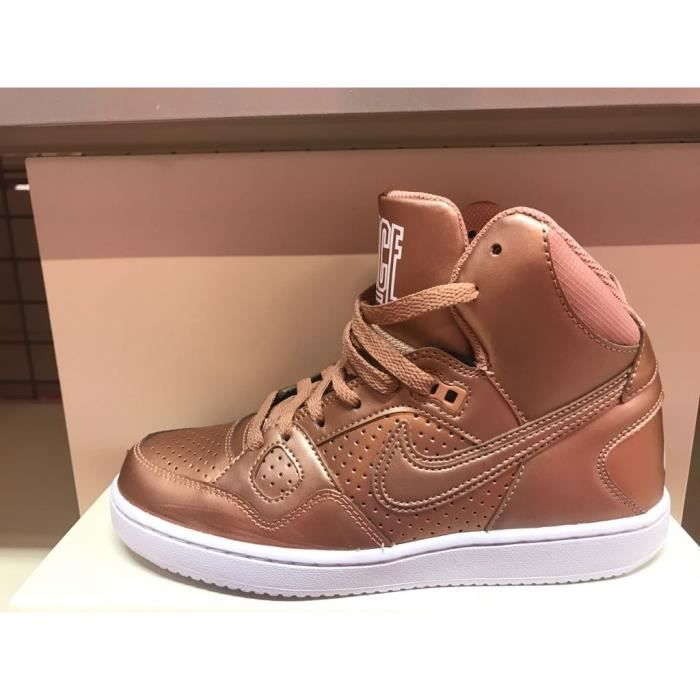 Baskets Nike Son of Force Mid marron 616303-991.
